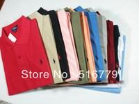 Мужская футболка Brand Men's T-Shirt 100%Cotton Polo Shirt Men'S 100% High Quality M/L/XL/XXL