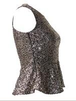 Женская футболка new fashion T-shirt, sequin tops notu903