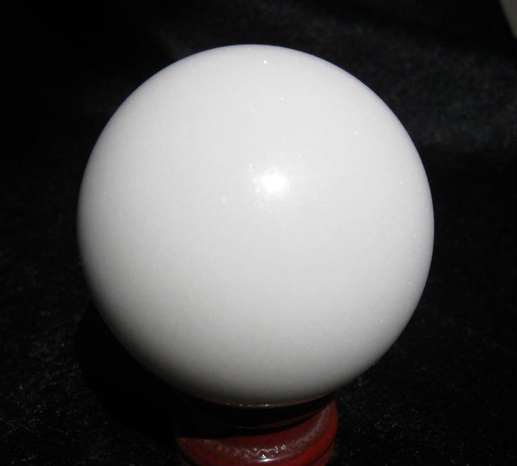 White Jade Spheres White Jade Crystal Sphere Quartz