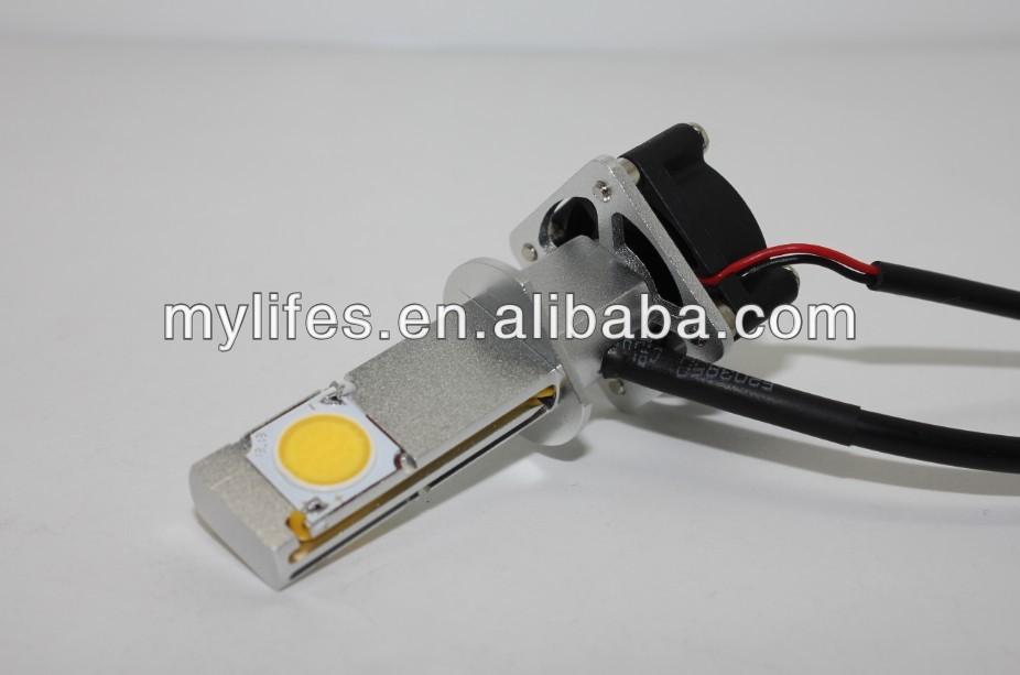 Cree CXA 1512 COB chip car headlight 3600lumen 50w led headlight H1, H3, H4,H13,9004,9007,H7,H8,H9,H10,H11,9005,9006