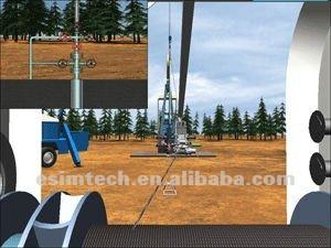 Full-sized Well-logging Simulator