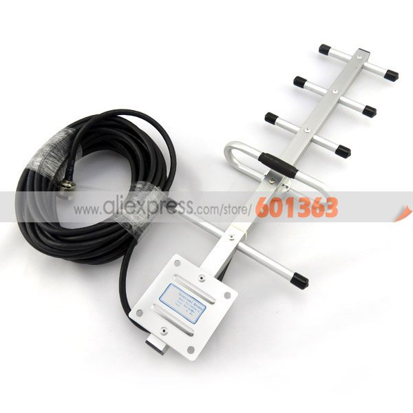 1PCS With cable+antenna 2000square meter CDMA980 850MHZ Mobile Phone Signal Amplifier RF Cell Phonge Repeater signal booster