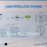 Телефон для звонков в skype OEM 1.4 LCD 2,4 USB VoIP Skype USB voip-1001