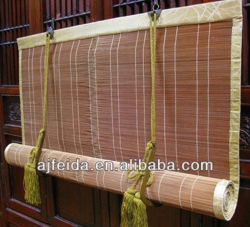 A tela de bambu japonesa antiga divis o de prote o solar for Fenetre japonais