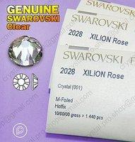 Стразы Swarovski Elements 2058 XILION выросли расширенной (001 кристально чистое)