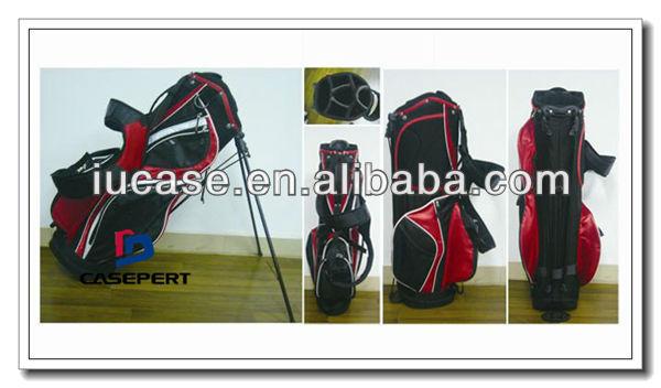 PU Leather/ Poly Travel Golf Bag Customized Golf Bag Golf Cart Bag