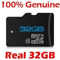 Карта памяти Brand NEW 32GB MICROSD CLASS 10 MICRO SD HC MICROSDHC TF FLASH MEMORY CARD REAL 32 GB WITH SD ADAPTER