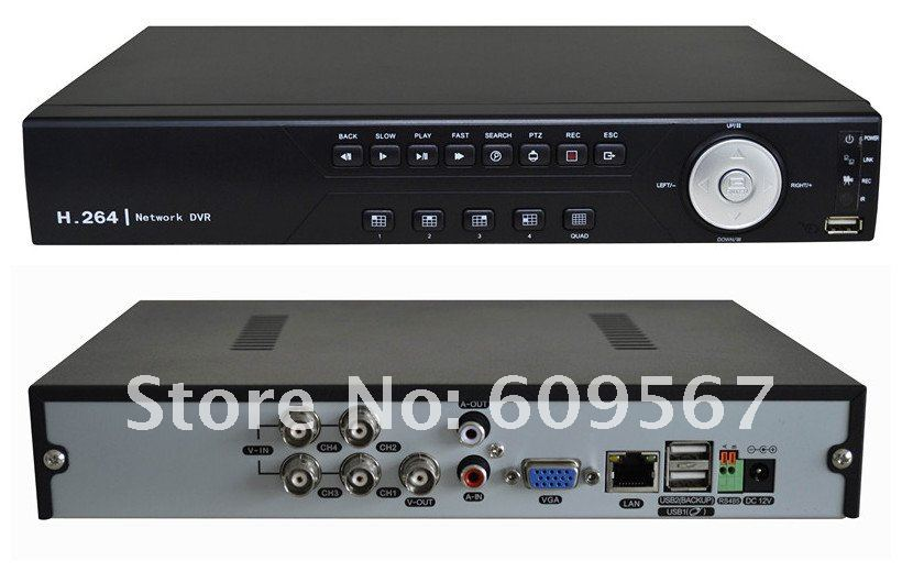 Black Beauty 4CH CCTV Kits Indoor CCTV DVR Surveillance System, 4 x 600TVL CMOS Camera, 15m IR Distance, 4x 15M Cable