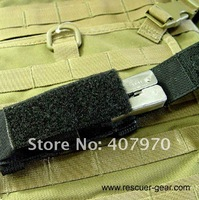 Детали и Аксессуары для сумок Rescuer Gear, outdoor gear pouch, Multifuntion, tactical MOLLE folder knife pouch, flashlight pouch, for mp3, durable, BLACK