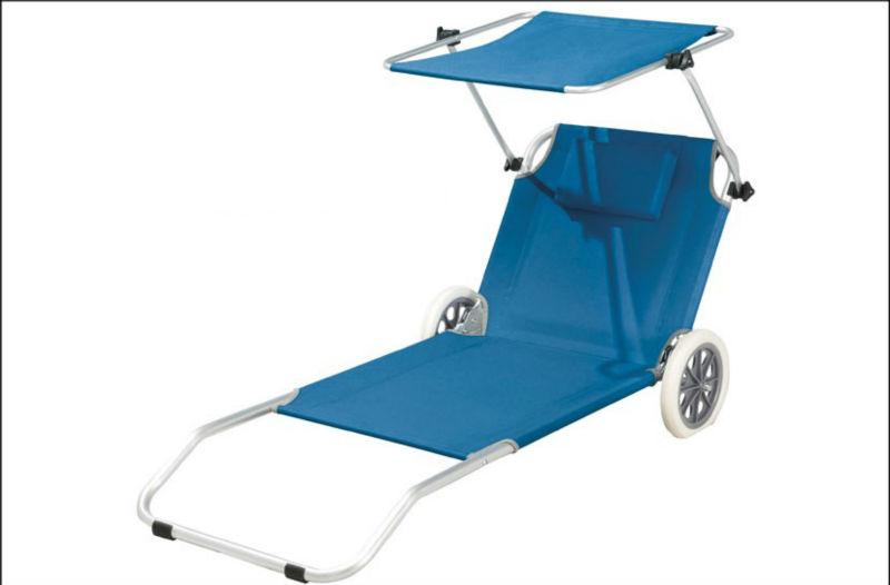 Pliage plage transat chaise pliante plage avec roues for Relax plage pliante