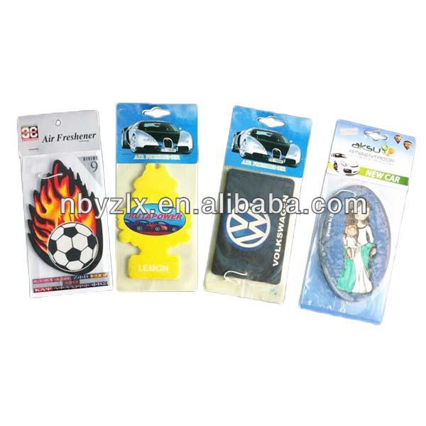 Auto hanging perfume / car air paper freshener / car air freshener
