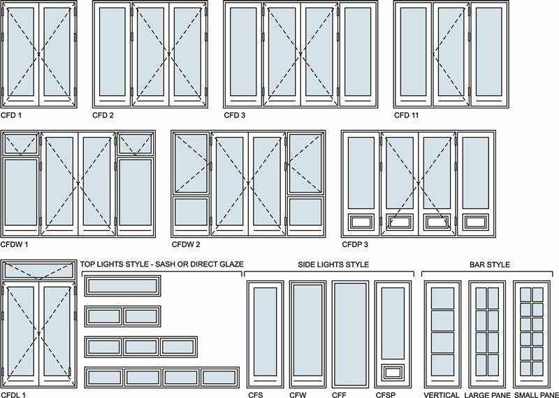 Door Opening Drawing Modern Aluminum Door Open