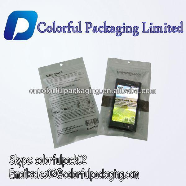 Personnalis imprim en plastique sac avec voir par la for Film protecteur fenetre