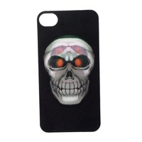 Чехол для для мобильных телефонов Fantastic 3D Skull Protective Hard Back Case Cover Skin for Apple iPhone 4/4S 5pcs/Lot +Drop Shipping