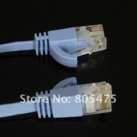 Ethernet кабель New Brand Flat RJ45 20M 65ft Cat 6a Lan Ethernet Cable network lan connection patch 3032