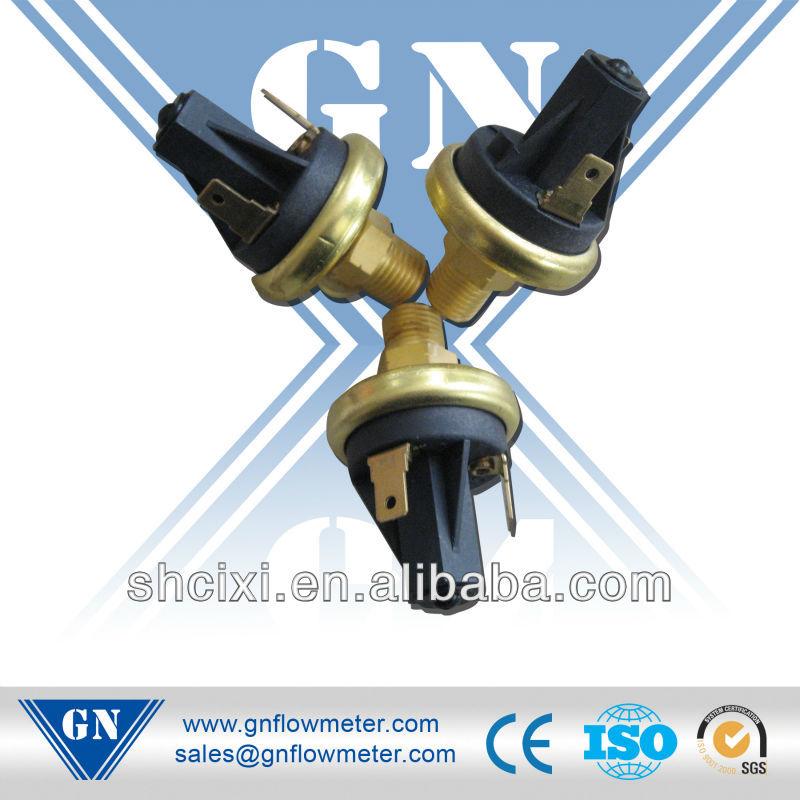 water heater gas pressure switch