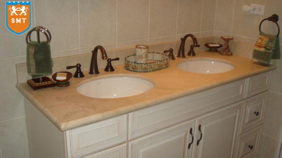 Bathroom Countertops Product : Pink granite countertop bathroom vanity tops buy