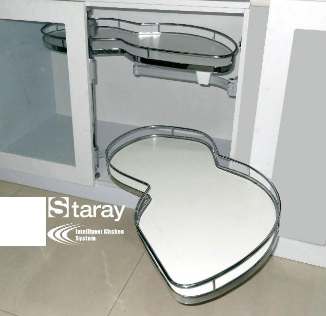 HPJ610 Kitchen cabinet chrome drawer pull-out basket