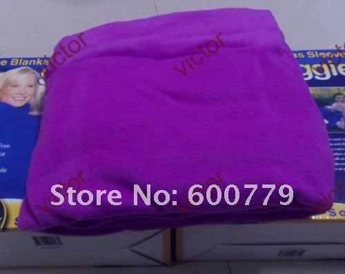 24pcs Adult Cotton Snuggie Super Soft Fleece Blanket Wild Side Blanket With Retail Box Package Mixd The Colors EMS Free Shipping