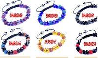 Браслет из бисера Fashion Crystal Beads Bracelet Best Gift Classic Handmade Woven Shamballa Bracelet SHAB0049