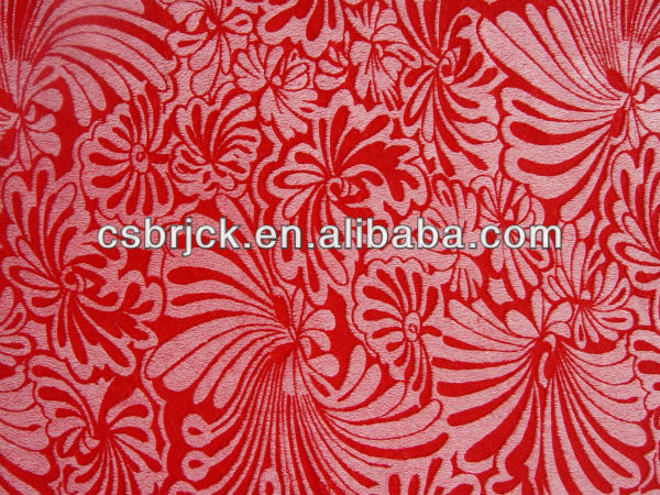 100% polyester carving printed microsoft fleece fabric for sofa cover