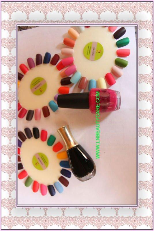 SAMPLE FREE!! LNG-062 matte nail polish, No Toluene, No DBP!
