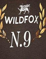 Футболка Wildfox No 9 Foiled Crest Roll Sleeve T/Shirt