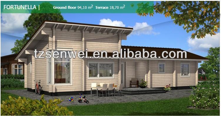 Fertighaus holz design  Einzigen dach spezielle design holzhaus fertighaus, holz haus ...
