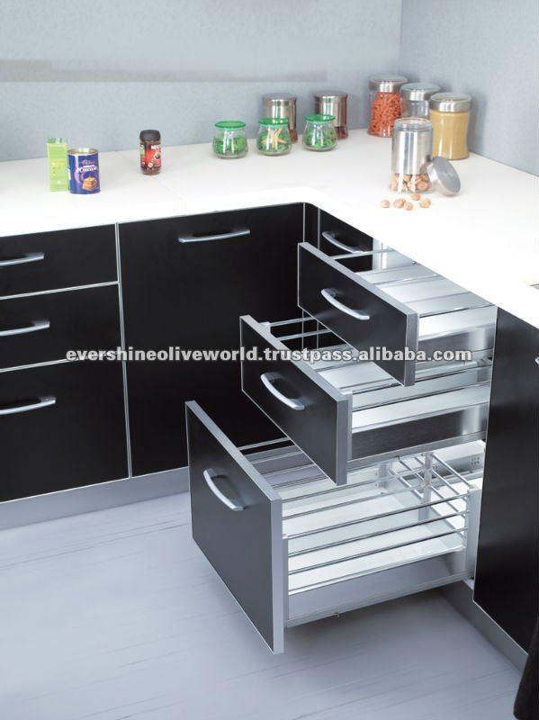 Corner Cabinet Drawer Basket