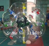 коммерческие качества надувные красочные бампер мяч для детей + 2 мяча + 1 свободный воздушный насос