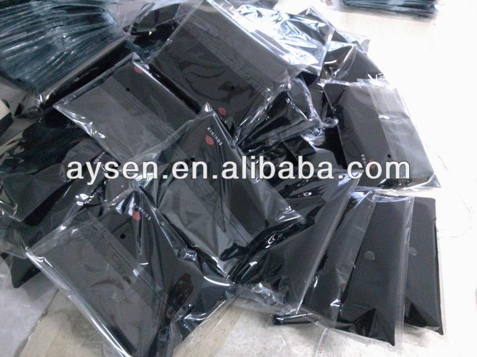 Almohada hinchable de pvc transparente para la promoción