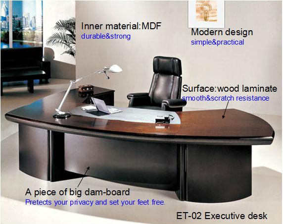 Bureau pas cher moderne bureau secr taire de table - Meuble de bureau moderne ...