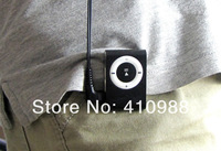wholesale MINI clip MP3 Player +cable+earphone Free shipping 10pcs/lot