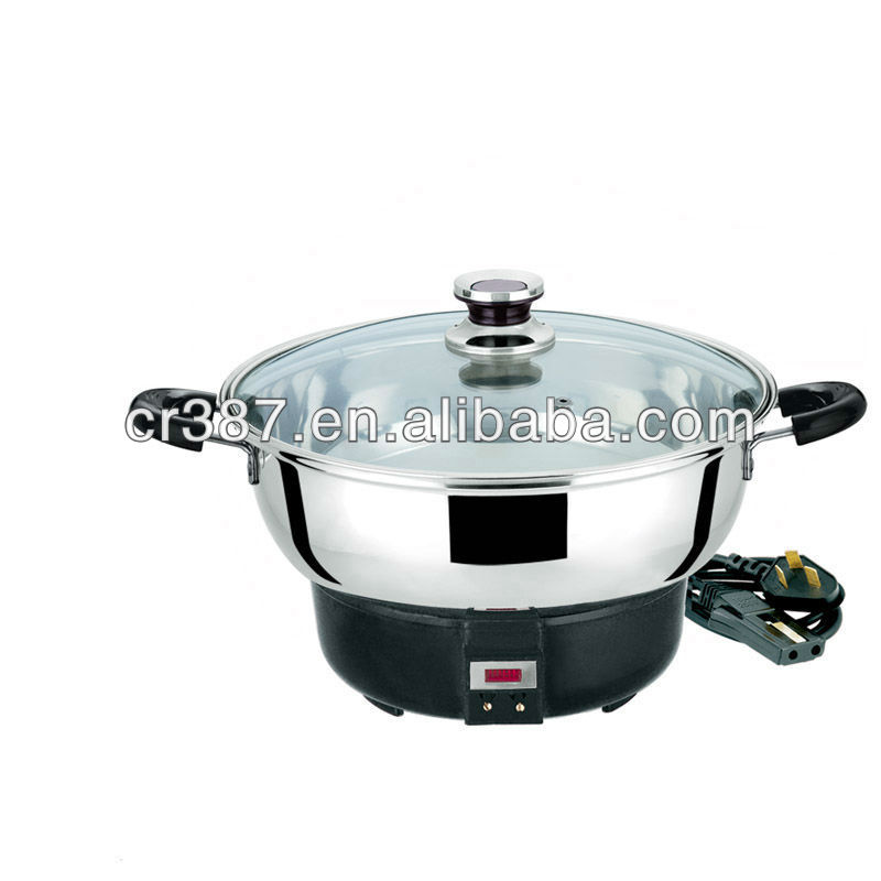 Stainless Steel connected electric pots/stock pot/hot pot 410