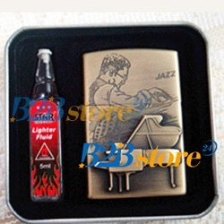 Piano Jazz lighter Mental Black Hotsale Brand New Wholesale Freeshipping.jpg