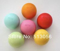 Бальзам для губ 100% nature U.S EOS organic lips balm ball smackers glossy 9 flavors lipstick DHL Shipping 100pcs/lots