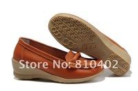 Женские мокасины New Soft Leather Shoes Low heels Comfortable Women's Loafers Shoes 4 colors