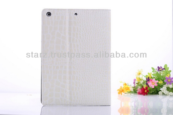 Luxury Croco Smart Leather Case For ipad Air / ipad 5