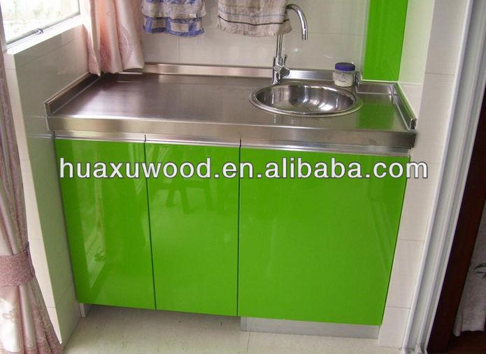 Pintura Em Armario De Cozinha De Aço : Mesa de a?o inoxid?vel verde automotive pintura porta