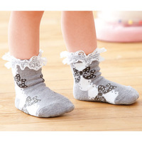 Носки для девочек 24pairs/lot Baby girl's socks, 6 colors, for 1-3 years old kids