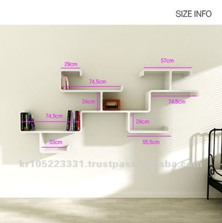 Modern Wall Shelf,Design Displays,Hanging Wall Shelf - Buy Wall ...
