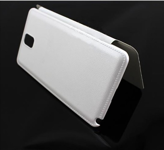 S-view flip leather cases for samsung galaxy note 3 with high quality and hot sale with open windows