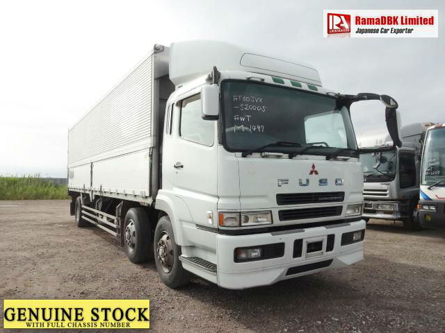 Stock#33068 MITSUBISHI FUSO SUPER GREAT WING BODY TRUCK FROM JAPAN FOR SALE Chassis:FT50JVX520005