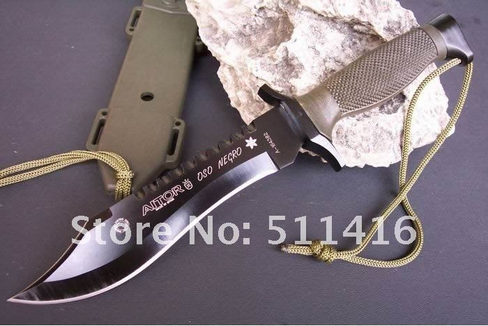 440 STAINLESS STEEL 58HRC OEM AITOR FOREST WOLF FIXED BLADE KNIFE RESCUE KNIFE DREAM0254  Free Shipping