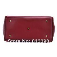 Сумка через плечо 2013 NEW Classic Handbag Women Shoulder Bags Handbags Ladies Messenger PU Leather Bag W010