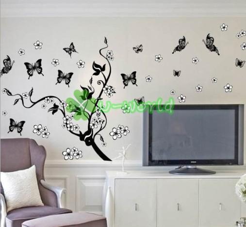 Butterflies wall decals hd images