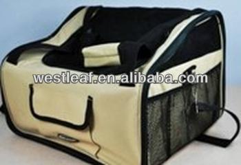 Large capacity car / dog carrier bag, Leopard pattern hand bag, dog carrier shoulder bags