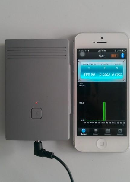 Wireless Power Monitor : New useful bluetooth wireless energy monitor meter view