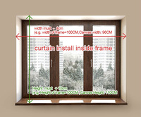 Customized curtain roll curtain/roller blinds/ic -a0035b