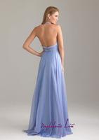 Вечернее платье A-line V-Neck Sleeveless Beading Floor-length Chiffon Evening Dress Prom Dress Style J201464
